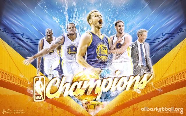 GSW 2015 NBA Champions Wallpaper 1600x1000