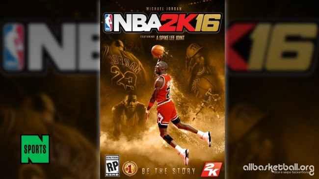 Обложку NBA 2K16 украсит портрет Майкла Джордана