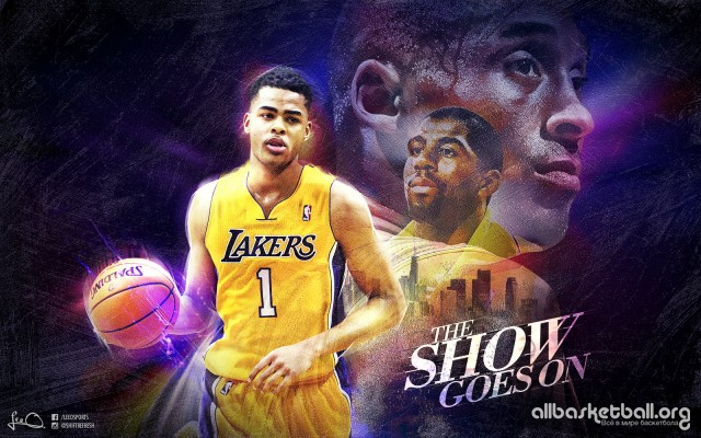 D'Angelo Russell Lakers 2015 Wallpaper 1600x1000