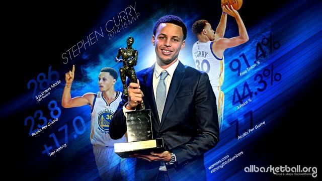 Stephen Curry 2015 MVP Wallpaper 2560x1440