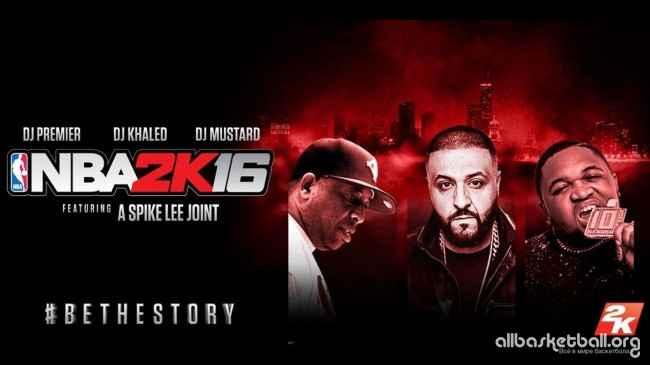 В саундтрек NBA 2K16 войдут более 50 композиций