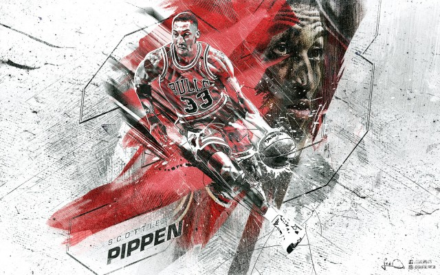 Scottie Pippen Bulls 2015 Wallpaper 1600x1000