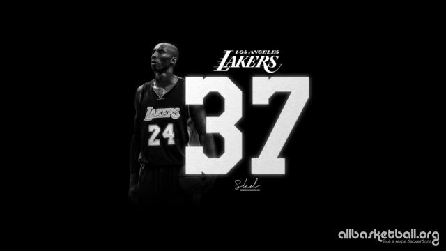 Kobe Bryant KB: 37! 2015 Wallpaper 1024x576
