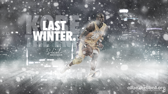 Kobe Bryant Last Winter 2015 Wallpaper 1920x1080
