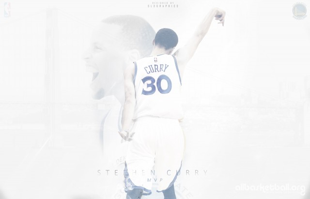 Stephen Curry MVP 2015 Wallpaper 2800x1800