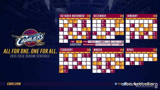 Cavs 2015-2016 Season Wallpaper
