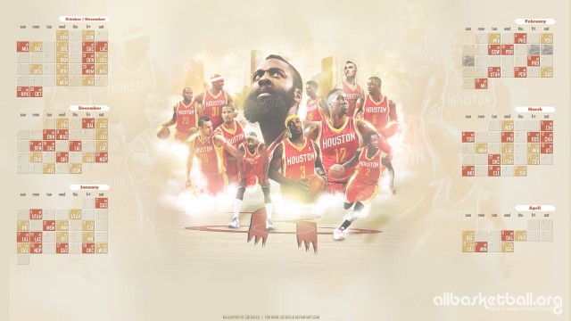 Rockets 2015-2016 Season Wallpaper