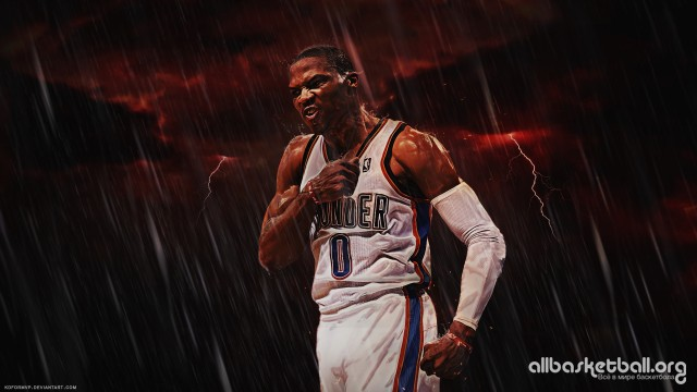 Russell Westbrook Emotion v2 2015 Wallpaper 1920x1080