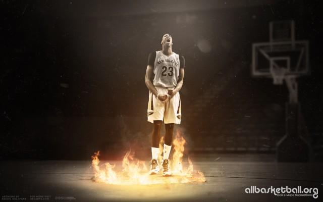 Antony Davis Pelicans The Big Easy 2015 Wallpaper 2000x1250