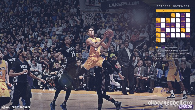 Lakers October/November 2015/16 Wallpaper 2560x1440