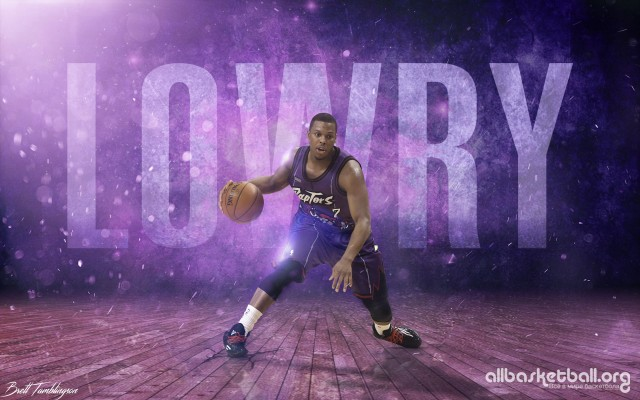 Kyle Lowry Raptors 2015 Wallpaper 2880x1800