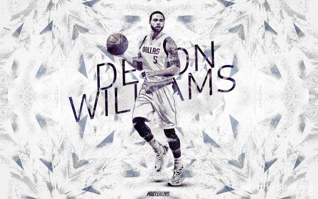 Deron Williams Mavericks 2015 Wallpaper 2880x1800