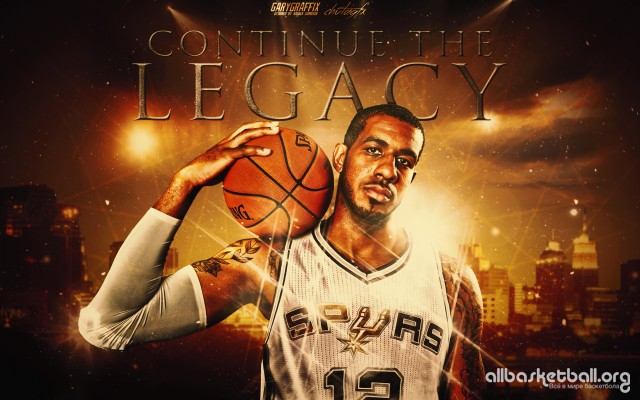 Lamarcus Aldridge Spurs 2015 Wallpaper 2880x1800