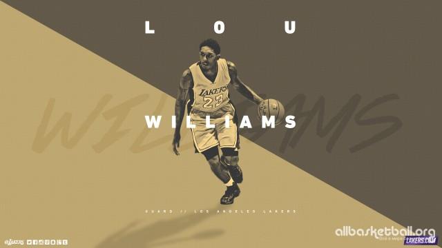 Lou Williams Lakers 2015 Wallpaper 2560x1440