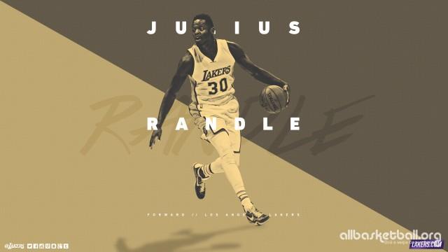 Julius Randle Lakers 2015 Wallpaper 2560x1440