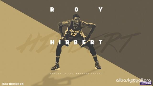 Roy Hibbert Lakers 2015 Wallpaper 2560x1440