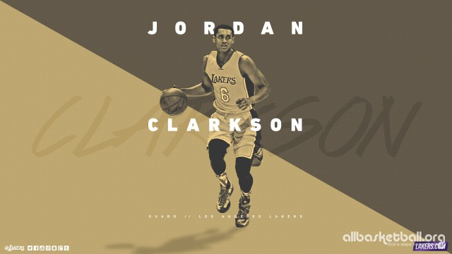 Jordan Clarkson Lakers 2015 Wallpaper 2560x1440