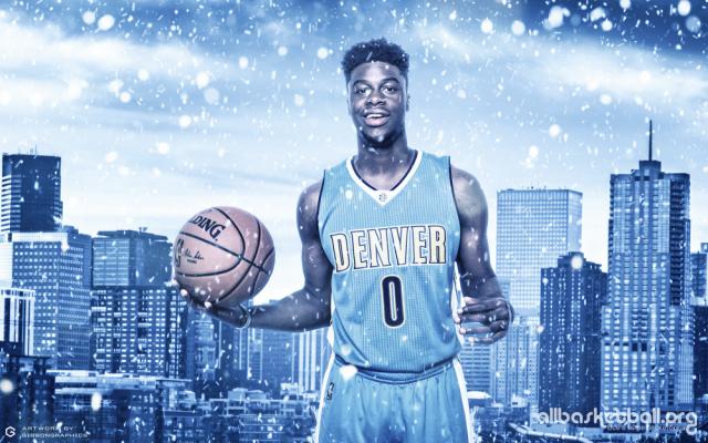Emmanuel Mudiay Denver 2015 Wallpaper 1000x625
