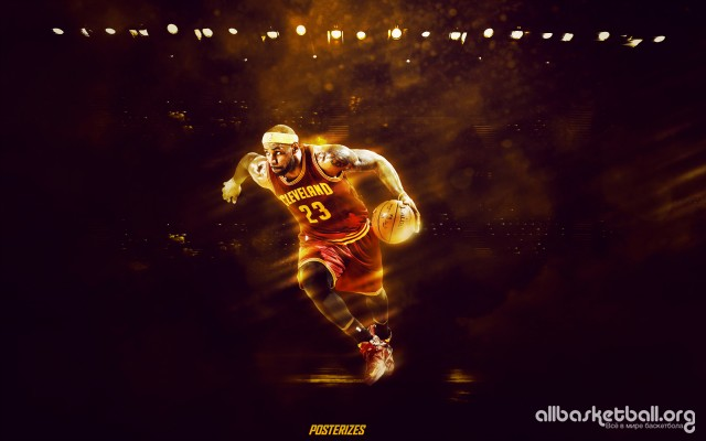 Lebron James Cleveland 2015 Wallpaper 2880x1800
