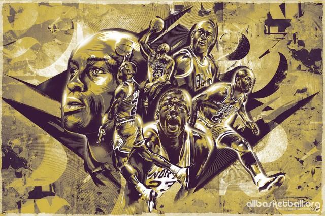 Michael Jordan Tribute 2015 Wallpaper 1024x683