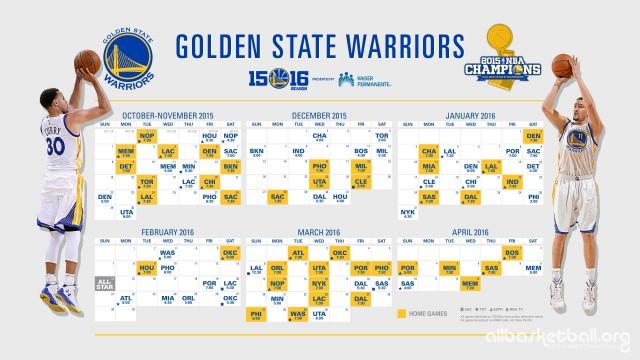 Warriors 2015-2016 Season Wallpaper 2560x1440