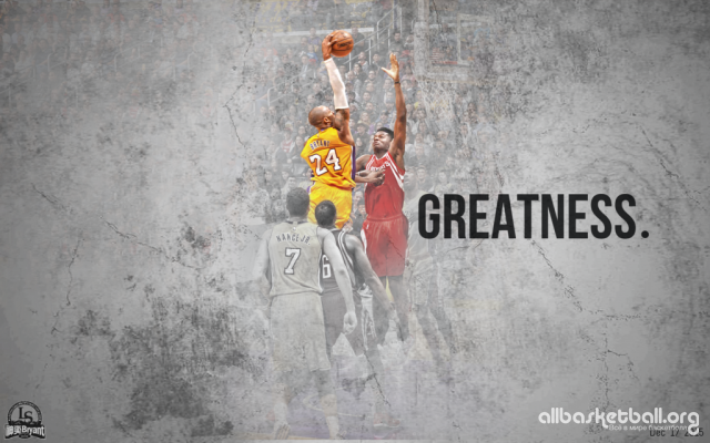 Kobe Bryant Poster Dunk on Cappela 2015 Wallpaper 1024x640
