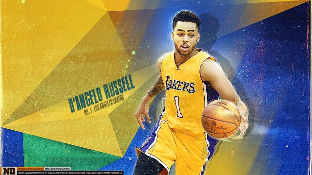 D'Angelo Russell Lakers 2016 Wallpaper 1920x1080