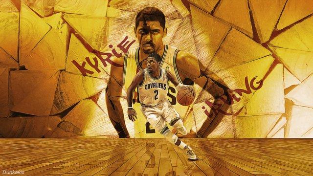 Kyrie Irving Cavs 2017 Wallpaper 1024x576