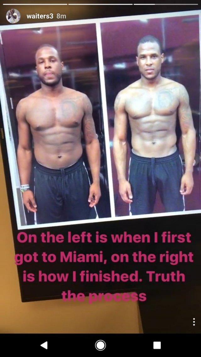 Дион Уэйтерс показал, как изменился за один год в «Майами»