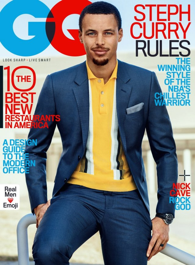 Stephen Curry GQ US April 2017