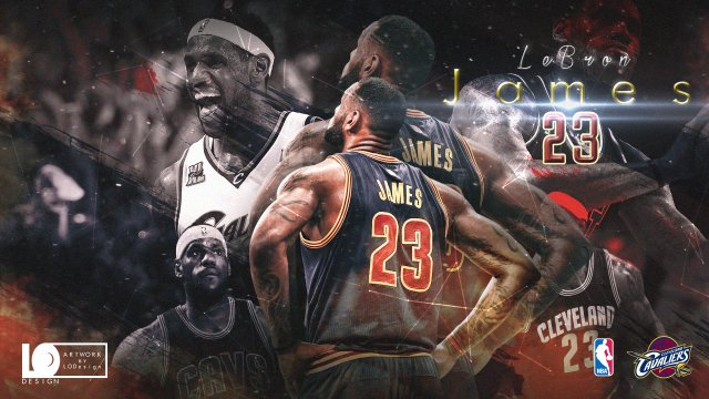 LeBron James 2017 Playoffs Wallpaper 1920x1080