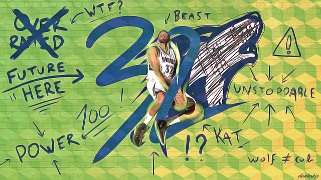 Karl-Anthony Towns Wolves 2017 Wallpaper 1280x720