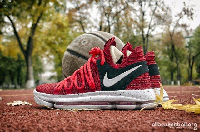 Обзор Nike Zoom KDX Red Velvet. Точно в десяточку?