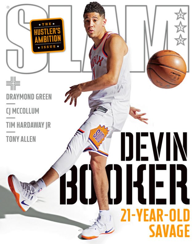 Devin Booker SLAM 213 Hustler's Ambition