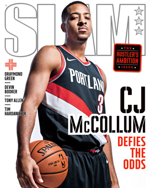 CJ McCollum SLAM 213 November 2017