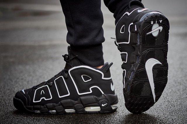 Кроссовки в стиле 90х уже в каталоге - Nike Air More Uptempo '96!