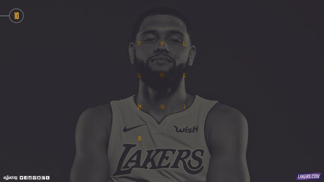 Tyler Ennis Lakers 2017/18 Wallpaper 2560x1440