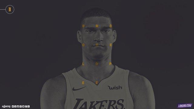 Brook Lopez Lakers 2017/18 Wallpaper 2560x1440