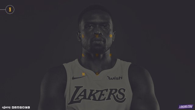 Luol Deng Lakers 2017/18 Wallpaper 2560x1440