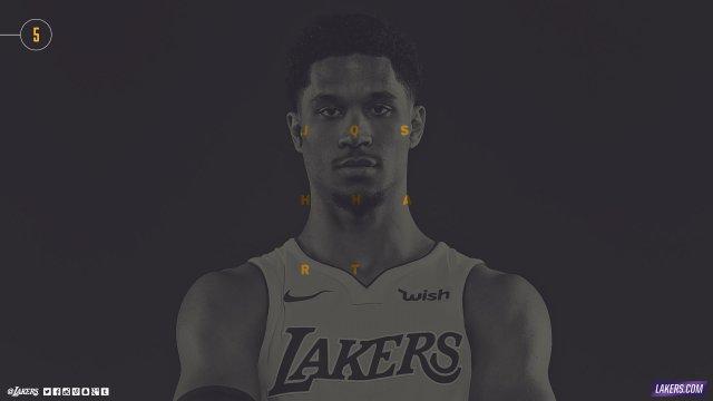 Josh Hart Lakers 2017/18 Wallpaper 2560x1440