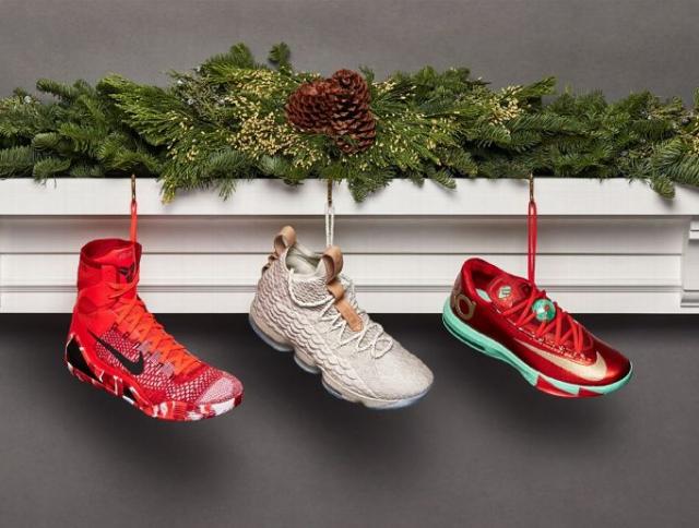 Рождественские кроссовки прошлого: ЛеБрона, Дюранта и Коби