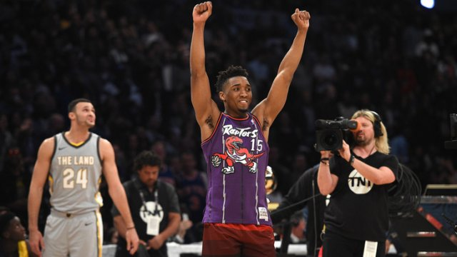 Young King или Slam Dunk Contest champion. Кто станет новичком года?