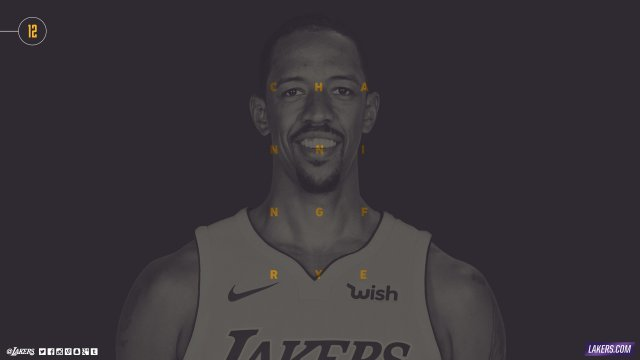 Channing Frye Lakers 2017/18 Wallpaper 2560x1440