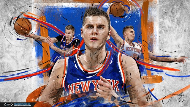 Kristaps Porzingis Knicks 2018 Wallpaper 1920x1080