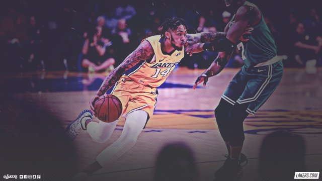Brandon Ingram Lakers 2018 Wallpaper 2560x1440
