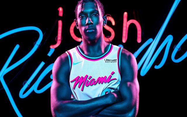 Josh Richardson Heat 2017/18 Wallpaper 1440x900