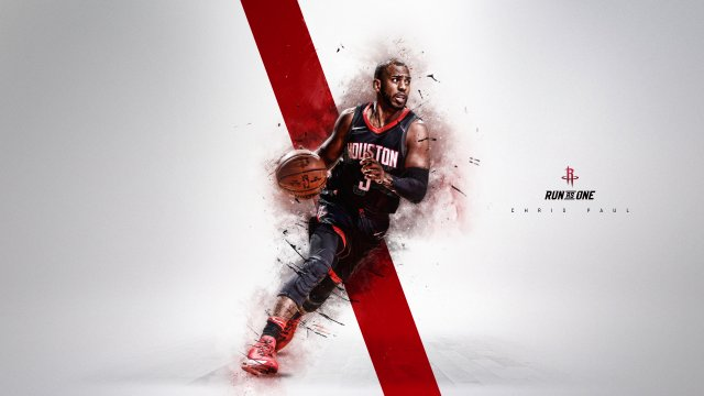 Chris Paul Rockets 2018 Wallpaper 1920x1080
