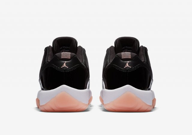 "Air Jordan 11 Low ""Bleached Coral"""