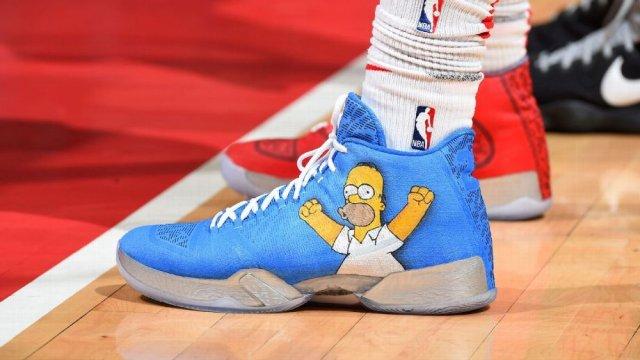 """Air Jordan 29 """"Homer Simpson"""""""