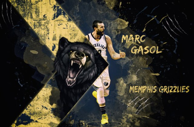 Marc Gasol Grizzlies 2018 Wallpaper 1024x672